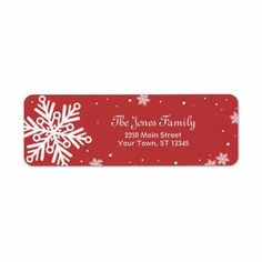 >>>best recommended          	Snowflake Return Address Label - Red           	Snowflake Return Address Label - Red so please read the important details before your purchasing anyway here is the best buyDiscount Deals          	Snowflake Return Address Label - Red Online Secure Check out Quick ...Cleck Hot Deals >>> http://www.zazzle.com/snowflake_return_address_label_red-106443101716993361?rf=238627982471231924&zbar=1&tc=terrest