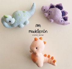 My Jurassic World amigurumi by Madelenon