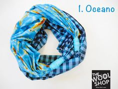 NODO sciarpa estiva made in Italy 100 cotone di TheWoolShopItaly, €15.00