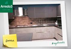 """""""Ecco la nostra meravigliosa cucina Arredo3...fantastica!"""" Questa è la bellissima #myArredo3 di Gloria da Vicenza. Grazie Gloria per averci inviato questo scatto!"""