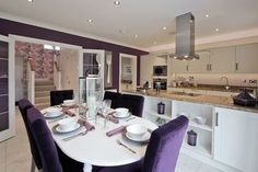 Dining Room Decor, Bloor Homes, House, Table, Home, Dining, Dining Room, Home Decor, Room