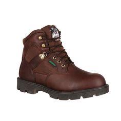 Georgia Boot Brookville Men's ... 6-in. Waterproof Work Boots n4MvDC