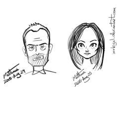 Alvaro Matteucci - Holmes & Watson  #elementary #holmes #watson #jonnyleemiller #lucyliu #samsung #notepro