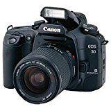Canon EOS 30 Spiegelreflexkamera inkl. Canon-Objektiv 28-90mm
