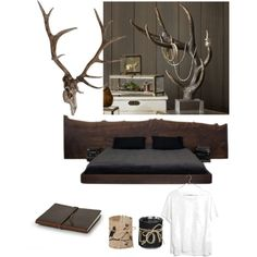 At his place by sabina88 on Polyvore featuring polyvore, interior, interiors, interior design, home, home decor, interior decorating, Pottery Barn and Madewell