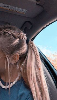 2019 Lindos Peinados con Trenzas – Fácil Paso a Paso 2019 Cute Hairstyles with Braids – Easy Step by Step More from my site Cute Little Girl Hairstyles Easy Medium Hair Styles, Curly Hair Styles, Hair Medium, Hair Plait Styles, Medium Long, Hair Styles Teens, Girls Long Hair Styles, Braided Ponytail Hairstyles, Teen Hairstyles