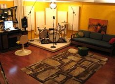 Basement Studio Music | House Decorating Ideas