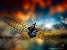Fliegen ist ein Gefühl von Freiheit. Heute fliegt die Fee in einen wundervollen Tag.  Fliegen ist ein Gefühl von Freiheit. Heute fliegt die Fee in einen wundervollen Tag.  Make Myday die Abenteuer der kleinen Fee als Kalender http://www.spielweltv3galerie.com/shop/make-myday/