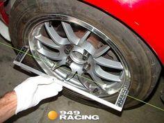 DIY Alignment tools at - Miata Forum Car Wheel Alignment, Tractor Attachments, Tractors, Wire, Tools, Cars, Instruments, Cable
