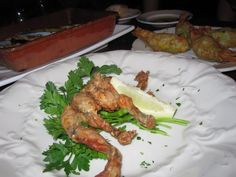 Frog legs from Bacaro