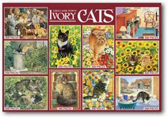 Selection of Lesley Ann Ivory puzzles