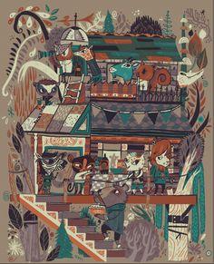 Screenprints - Meg Hunt