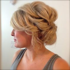 Wedding updo, wedding hair, perfect for fine hair  KrisJustHair.com  or find us on face book!!