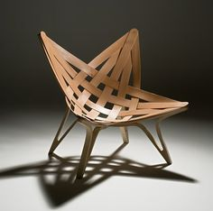 Star Chair by Sam-woong Lee (Korea)  To DIE foooooooooor want want want want want!!!!!!!