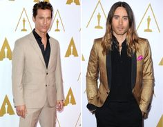 Matthew McConaughey and Jared Leto (Photo: Getty Images/WireImage)