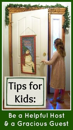 Lots of tips and tools for helping kids learn to be a Helpful Host and a Gracious Guest from KC Edventures! Especially helpful with all the holidays coming up.