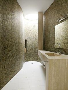 Acoustic Alchemy / hyla architects. Mosaics and organic shape.