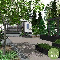 Project: Wildrose.  Designing a dark color scheme garden for the island in the Gulf of Bothnia.  Designed by Green Idea