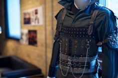 """Detail of costume from """"Lost Girl"""" at CAFTCAD Celebrates Costume, September 9th, 2014"""