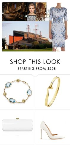 """""""Visiting the Vasa Museum with the Crown Prince and Princess of Iceland"""" by swedish-princess ❤ liked on Polyvore featuring Georg Jensen, Jimmy Choo, Erdem, Gianvito Rossi and Marie Hélène de Taillac"""