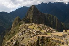 Machu Picchu, Richard Baumert