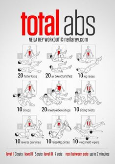 Neila Rey Total Abs for me Abb Workouts, Total Ab Workout, Killer Ab Workouts, Lower Ab Workouts, Abs Workout Routines, At Home Workouts, Fat Workout, Best Ab Workout, Ab Workouts For Men