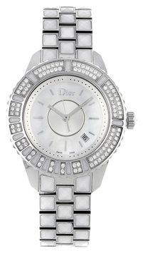 Christian Dior Christal CD11311CM002 Steel & Diamonds Quartz Ladies Watch. Get the lowest price on Christian Dior Christal CD11311CM002 Steel & Diamonds Quartz Ladies Watch and other fabulous designer clothing and accessories! Shop Tradesy now