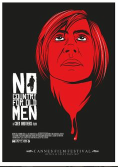 NO COUNTRY FOR OLD MEN | movie poster by Mainger