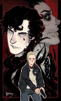 Sherlock Holmes, John H. Watson, James Moriarty    Sherlock BBC