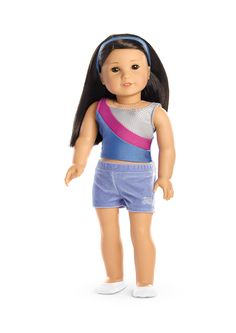 2-in-1 Gymnastics Practice Outfit for Dolls