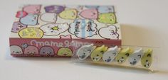 @CoolPencilCase Mamegoma Notepad Set + Mini Erasers