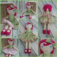 Spring princess. ..available in my Etsy shop soon...LadyDurhamDolls
