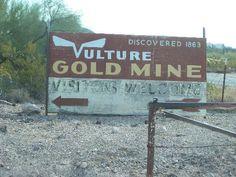 Vulture Gold Mine in Wickenburg, AZ