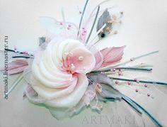 """Купить Роза """"Марлен"""" - шелковые цветы, натуральный шёлк"""