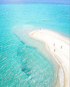 Heaven on earth in Halkidiki at Sani Beach. We can't wait for summer! Photo by @mvernicos #greece #halkidiki #beach #posidibeach