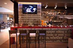 News Bar by Inout Side Architects Sarajevo