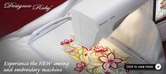 Love my embroidery sewing machine