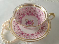 Taza de té de Chelsea real y platillo taza Duo