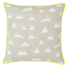 Shop Mountain Throw Pillow. Our Mountain Throw Pillow is perfect for your kids' room, playroom or nursery. Shop throw pillows today.