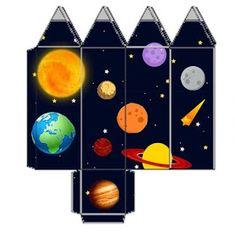 Fábrica de Sonhos: Caixinhas Astronauta - 1 Diy Paper, Paper Crafts, Astronaut Party, Outer Space Theme, Galaxy Theme, Fiesta Decorations, Letters For Kids, Space Party, Class Decoration