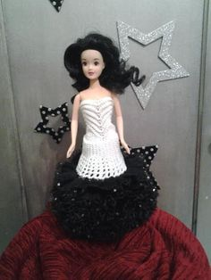 Crochet Doll Pattern, Crochet Dolls, Barbie Accessories, Barbie Dress, Barbie And Ken, Doll Clothes, Creations, Gowns, Pinocchio