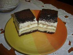 Gaštanové rezy s banánmi - recept Nutella, Tiramisu, Cheesecake, Ethnic Recipes, Food, Basket, Cheesecakes, Essen, Meals