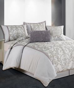 Loving this Brooke Comforter Set on #zulily! #zulilyfinds