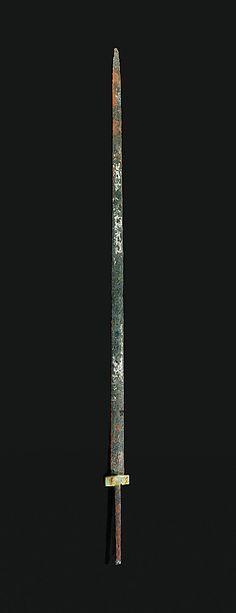 Espada con guarniciones ornamentales | china | Occidental dinastía Han (206 ane-9) | el Met