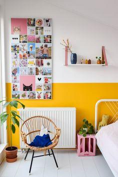 Cozy Bedroom, Kids Bedroom, Woodland Room, Yellow Nursery, Quirky Home Decor, Spare Room, Baby Decor, New Room, Decoration