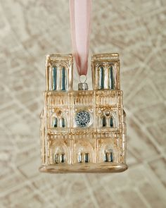 Cathedrale Notre Dame Christmas Ornament