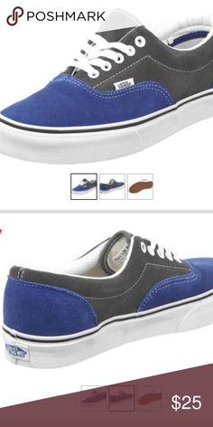0e381794a4 Vans old skool blue grey shoes sneaker