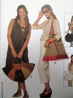 Boho Hobo Bag satchel tote bag drawstring purse by MySoftParade