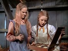 Mary and Laura scheme to buy the Rev. Alden a birthday gift by selling some merchandise. (Little house on the Prairie)