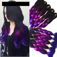 Material:Synthetic Hair Item Type:Hair Extension Style:Straight Net Weight:100g rams Hair Extension